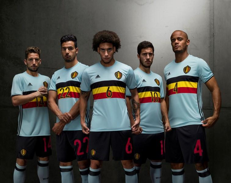 Belgie uitshirt euro 2016
