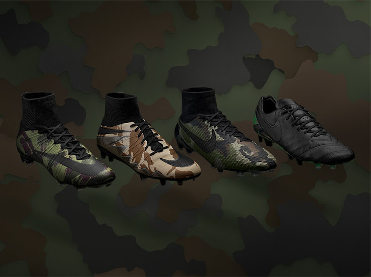 best loved 0529c f13ba Nike Camo Pack Voetbalschoenen