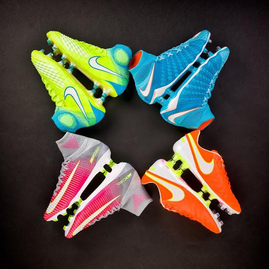 Nike nieuwste motion blur