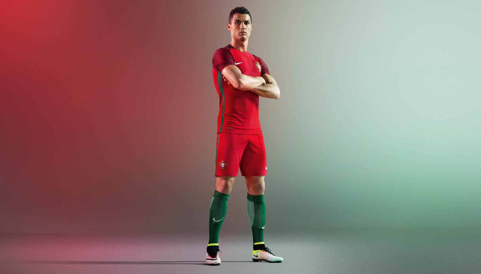 Portugal thuisshirt euro 2016_Ronaldo_cr7