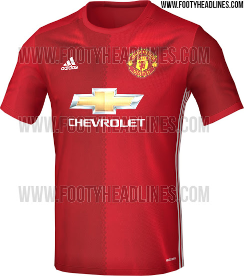 manchester united shirt 2016-2017