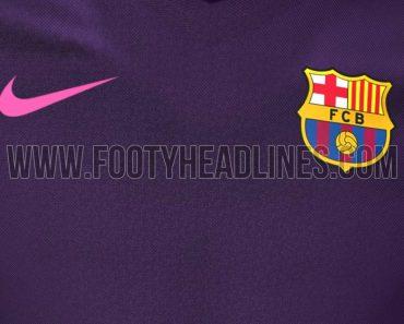 Barcelona 16-17 uitshirt