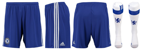 Chelsea shirt en broekje 2016-2017