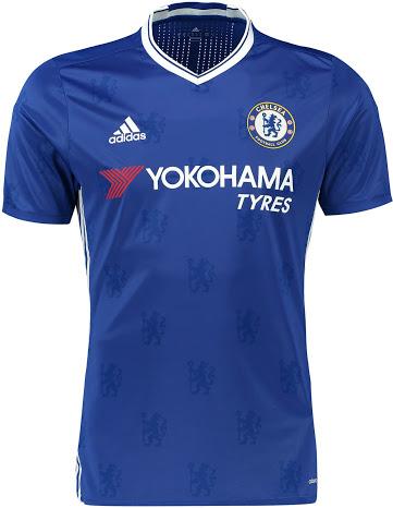 Chelsea thuisshirt 16-17