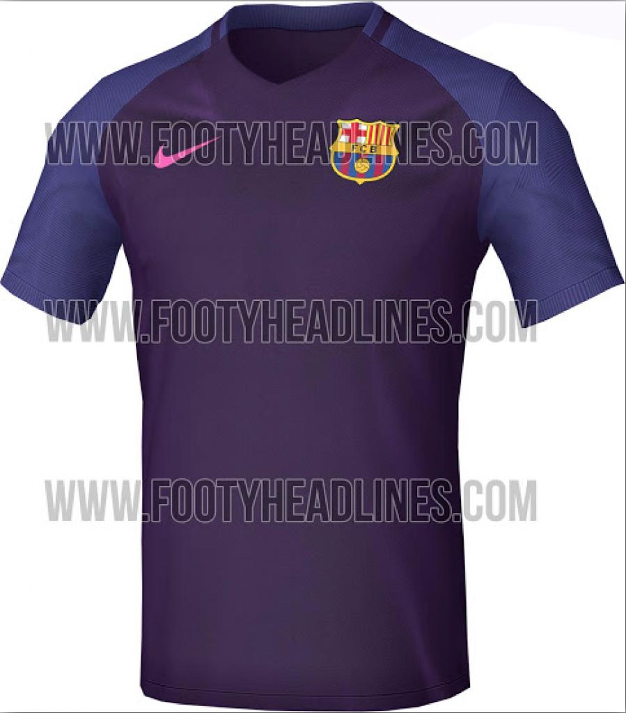 FC barcelona uitshirt 2016-2017