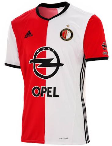 Feyenoord thuisshirt 2016-2016-2