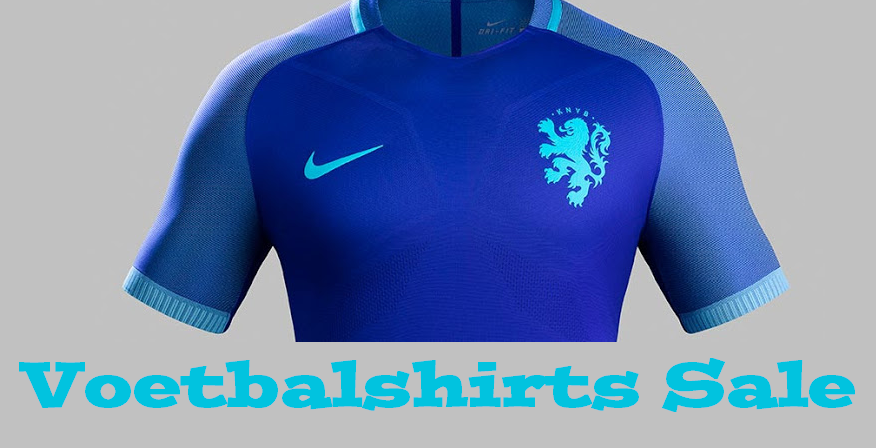 Voetbalshirts sale