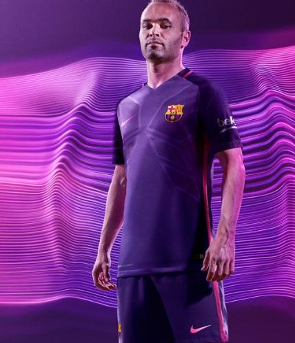 nieuwe uitshirt barcelona 2016-2017