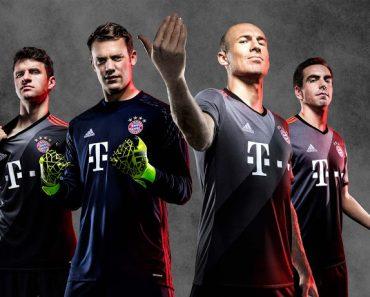Bayern munchen uitshirt bestellen