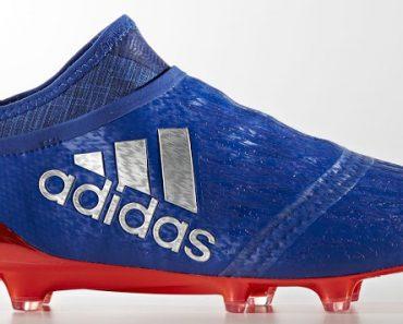 Blauwe Adidas X 16+ PureChaos 2016-2017
