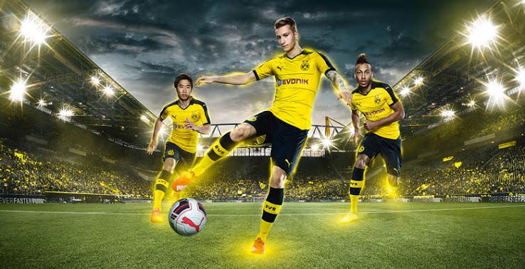 Borussia Dortmund Tenue 2016-2017-2