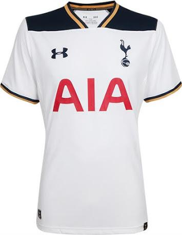 Tottenham hotspurs thuisshirt 2016-2017