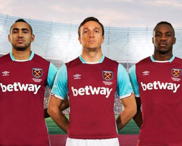 West ham united thuisshirt 2016-2017