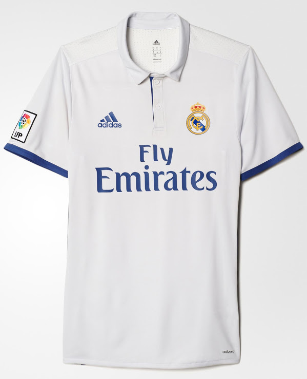 thuisshirt real madrid 2016-2017 - 2