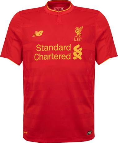 Liverpool thuisshirt 2016-2017