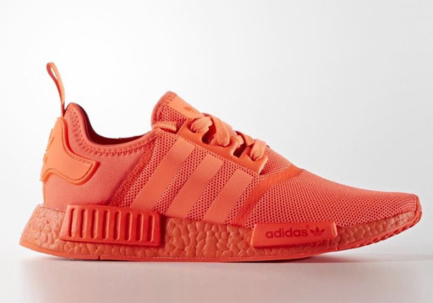 Rode adidas sneakers solar red