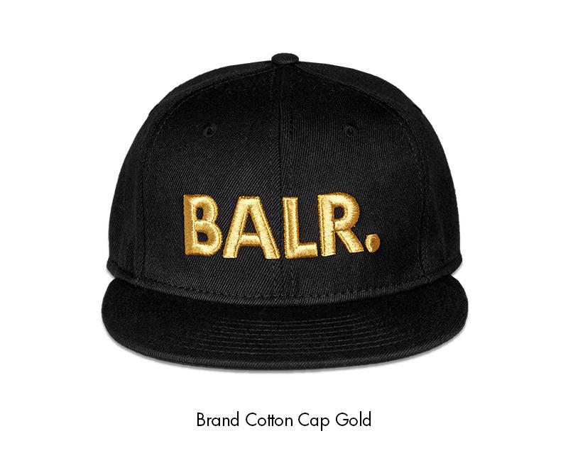 BALR. pet gouden letters