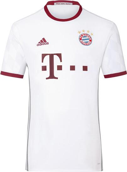 Bayern munchen uitshirt 16-17