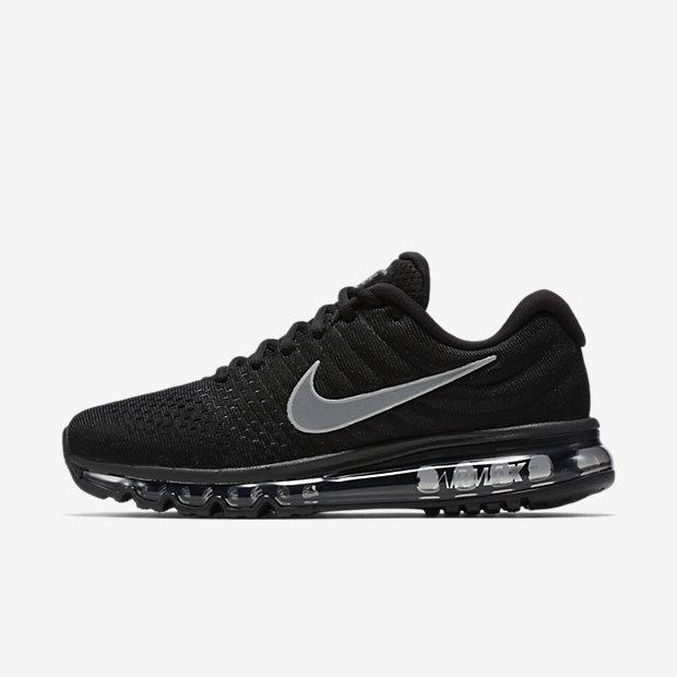 Nike air max 2017 - Zwart