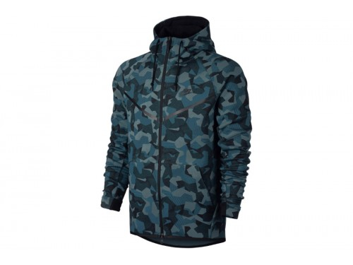 nike tech fleece vest camouflage