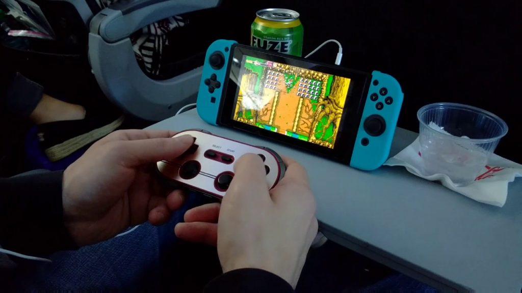 nintendo switch airplane