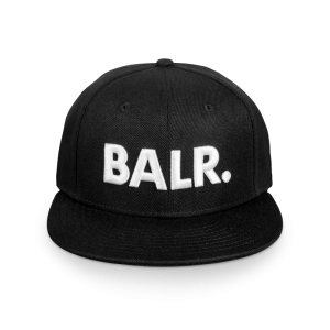 BALR. Brand Cotton Cap Black