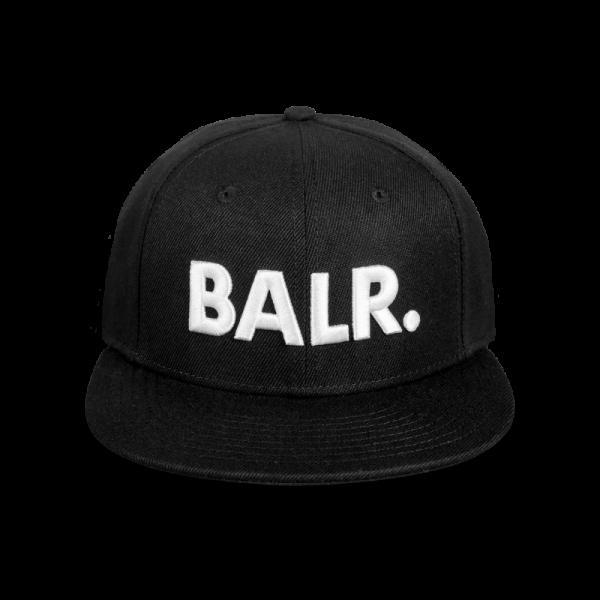 BALR. Brand Cotton Cap Black