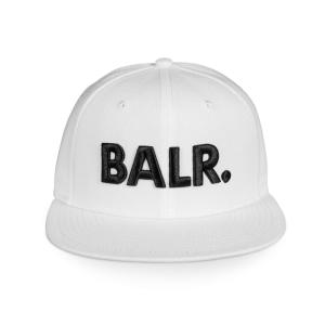 BALR. Brand Cotton Cap White