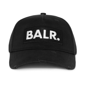 BALR. Classic Distressed Cap Black