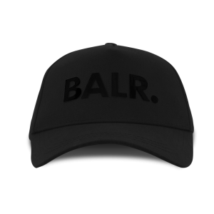 BALR. Black On Black Cap