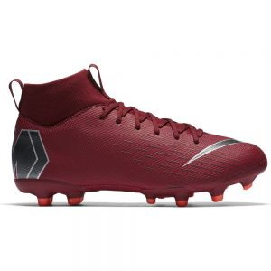 Nike Mercurial Superfly 6 Academy MG Kids Light Crimson Metallic Dark Grey Wolf Grey
