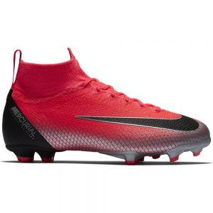 Nike Mercurial Superfly 6 Elite CR7 FG Kids Flash Crimson Black Chrome