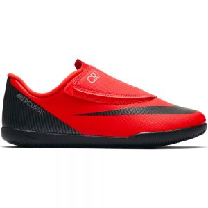 Nike Mercurial VAPOR 12 CLUB PS (V) CR7 Indoor Kids Bright Crimson Black Chrome