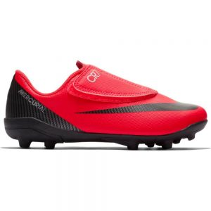 Nike Mercurial VAPOR 12 CLUB PS (V) CR7 MG Kids Bright Crimson Black Chrome