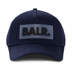 BALR. Rubber Box Logo Cap Navy