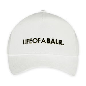 LIFEOFABALR. Cap White