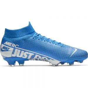 Nike Mercurial Superfly 7 PRO FG Voetbalschoenen Blauw Wit Blauw