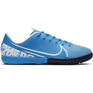 Nike Mercurial Vapor 13 ACADEMY Zaalvoetbalschoenen Kids Blauw Wit Blauw