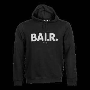 BALR. Brand Hoodie Black