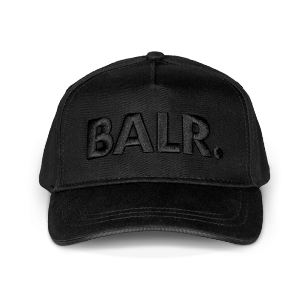BALR. Classic Cotton Cap Black on Black