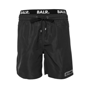 BALR. LOAB Badge Swim Shorts Black