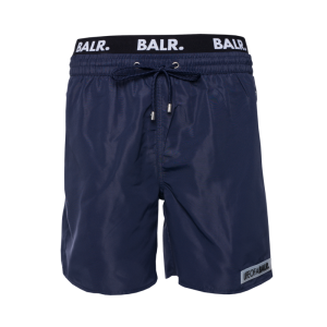 BALR. LOAB Badge Swim Shorts Navy