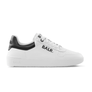 BALR. Leather Clean Logo Sneakers Low White