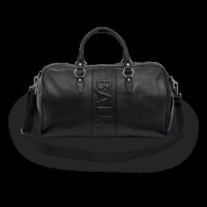 BALR. Leather Weekender - Black