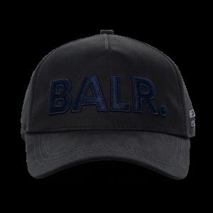 BALR. Navy Logo Classic Cap Black