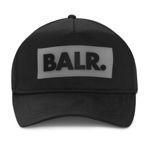 BALR. Rubber Box Logo Cap Black