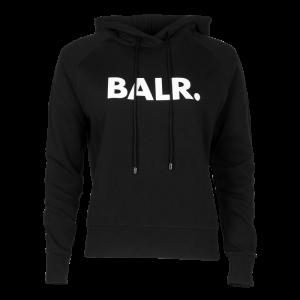BALR. Women Brand Hoodie Black