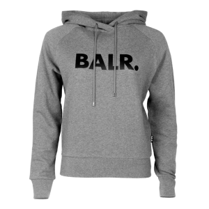 BALR. Women Brand Hoodie Grey - Grey