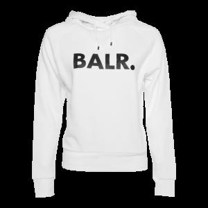 BALR. Women Brand Hoodie White