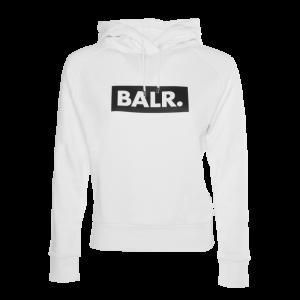 BALR. Women Club Hoodie White